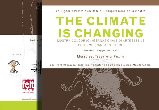 The Climate is Changing – International Felt Exhibition